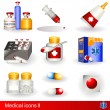 Stock Vector: Medical icons 2