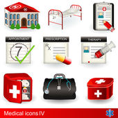 Medical icons 4 — Stock Vector