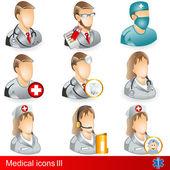Medical ikony 3 — Wektor stockowy