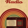 RADIO POSTER - BANNER - Vettoriali Stock 