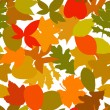 Seamless autumn — Stock Vector