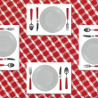 Dinner Setting — Stock Photo