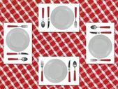 Dinner Setting — Stock Photo