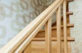 Escadas de madeira — Fotografia Stock