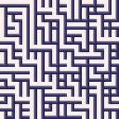 Une impression de fond labyrinthe en gris — Photo