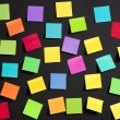 Colored paper notes — Stock Photo #9211164