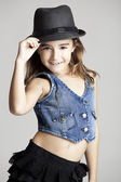 Fashion little girl — Foto de Stock