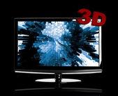 3D TV — Stock Photo