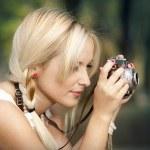 Photographing — Stock Photo