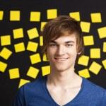 Happy student — Stock Photo #9727844