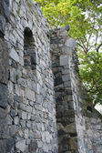 Средневековый замок в Швеции — Stock Photo