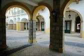 Various arches of Portuguese architectures — Stock Photo