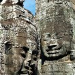 Stock Photo: Angkor face