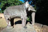 Elephant statue of East Mebon, Cambodia — Stock Photo