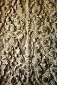Sculpted wall at corridor of Angkor Wat, Cambodia — Stockfoto