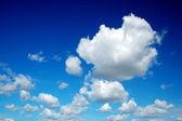 Algodón como cielo nublado — Foto de Stock