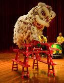 Lion dance — Stock Photo