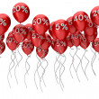 Balloons sale — Stock Photo