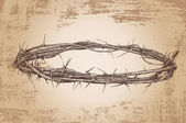 Crown of thorns — Vettoriale Stock