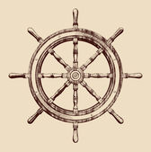 Ship wheel — Vetorial Stock