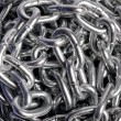 Metal chains — Stock Photo #9940201