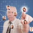 Social network — Stock Photo #10577862