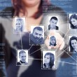 Social Network structure — Stockfoto #10577883