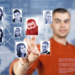 Social network structure — Stock Photo #10578037