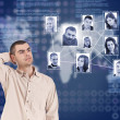 Social network structure — Stock Photo #10578048