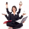 Business woman concept — Stock Photo
