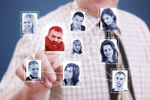 Social network — Stock Photo