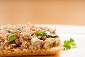Tuna salad sandwich — Stockfoto