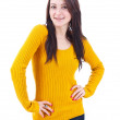 Charming young woman — Stock Photo