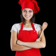 Chef woman — Stock Photo #9202922