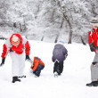 Snow fighting — Stock Photo #9203262
