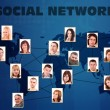 Social network concept — Stock Photo #9204787