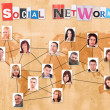 Social network concept — Stock Photo #9204815