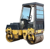 Old road roller — Stock Photo
