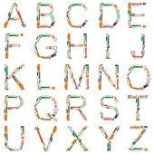 Alfabeto ferramentas — Foto Stock