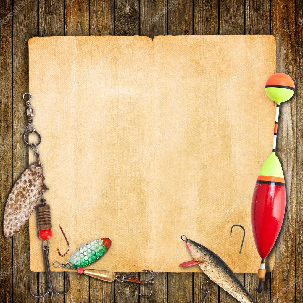 фоторамки и шаблоны рыбалка