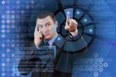 Virtuelle hightech — Stockfoto