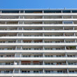 Apartment building in Berlin with a blue sky — Stock Photo