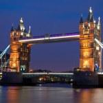Tower Bridge at night — Stock Photo #10692187