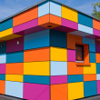 Colourful small building — Stock Photo