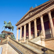 Stock Photo: Berlin landmark Old National Gallery