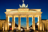 The Brandenburg Gate at dawn — Stockfoto