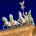 The Quadriga on top of the Brandenburger Tor — Stock Photo