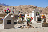 Cementary in northern Argentina — Stock Photo