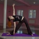 Female doing yoga — Stock Photo #9472443