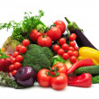 Collection vegetables - Stock Photo